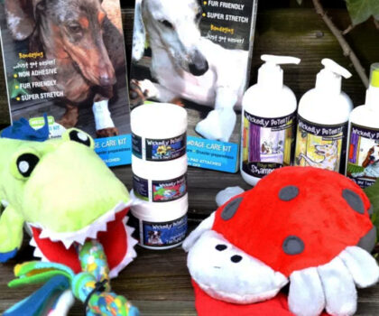 PawFlex, Giveaway Toys & Shampoos, Toothpaste