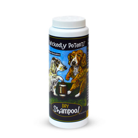 PawFlex | Wickedly Potent Natural Remedies Dry Dog Shampoo