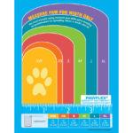 MediMitt bandages Size Chart for dog, pawflex, pet shop near me