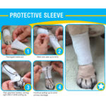 Protective Sleeve Cover, dog bandages, dog bandages instructions, pawflex, pet shop