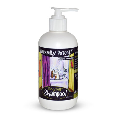 PawFlex | Wickedly Potent, Natural Remedies, Itchy Mutt Dog & Pet Shampoo