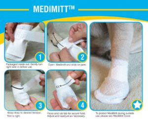 medimitt paw bandages for dog, pet bandages, pawflex, pet shop near me