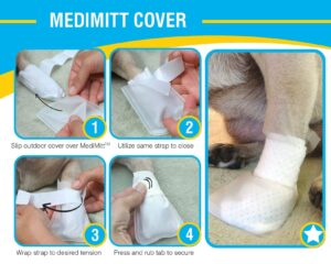 First Response Paw Bandage for pet, dog bandages, pet bandage, pawflex, pet care, animal care, pet shop near me, medimitt cover, paw bandage