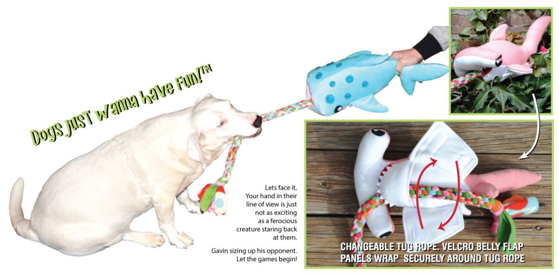 PawFlex | Owiee Toys | Tug Attack | Dog Having Fun