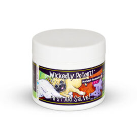 Wickedly Potent, Natural Remedies, Dog & Pet First Aid Salve, pawflex, animal health, pet care, paw bandages for pets
