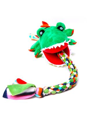 PawFlex | Owiee Toys, Tug Attack, Alligator