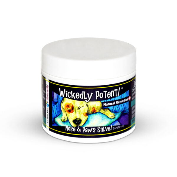 Wickedly Potent, Natural Remedies, Dog & Pet Nose and Paws Salve, pawflex, pet shop, paw bandages for pets